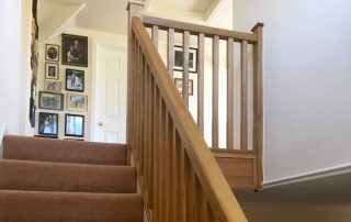 Oak Spindle Staircase Case Study