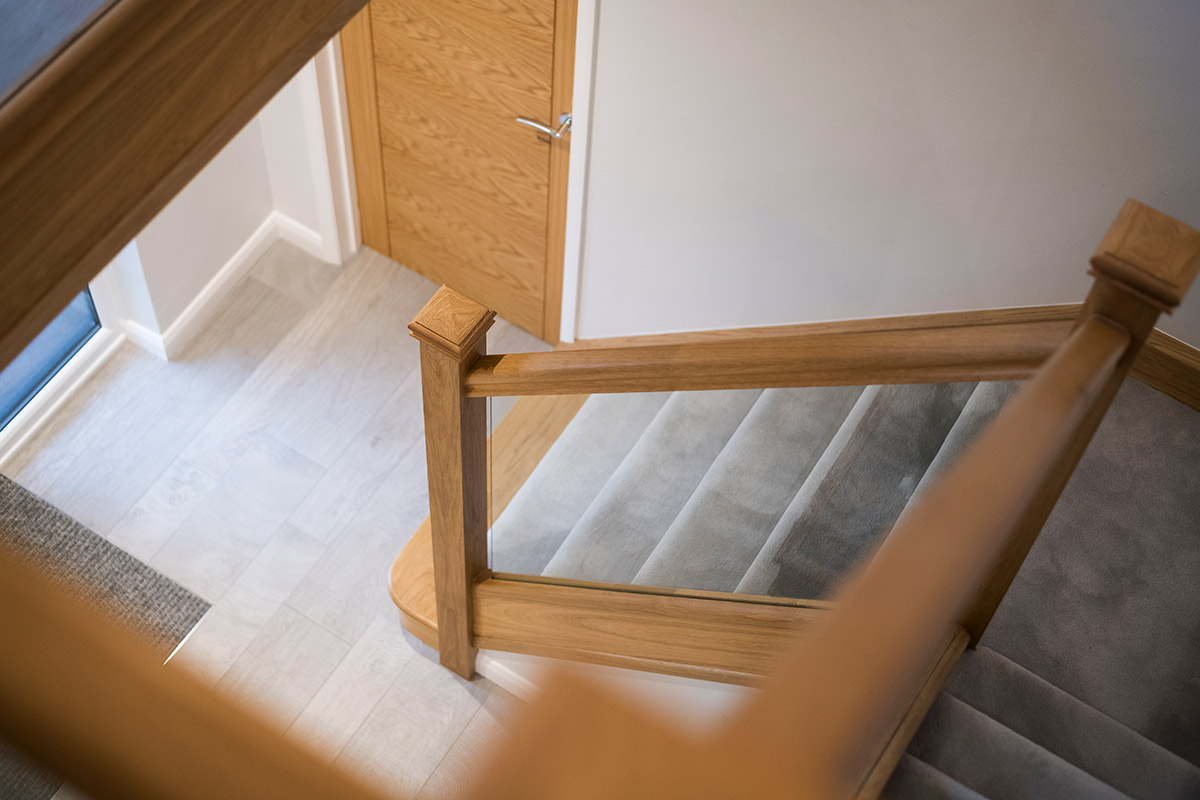 Oak & Glass Staircase Renovations
