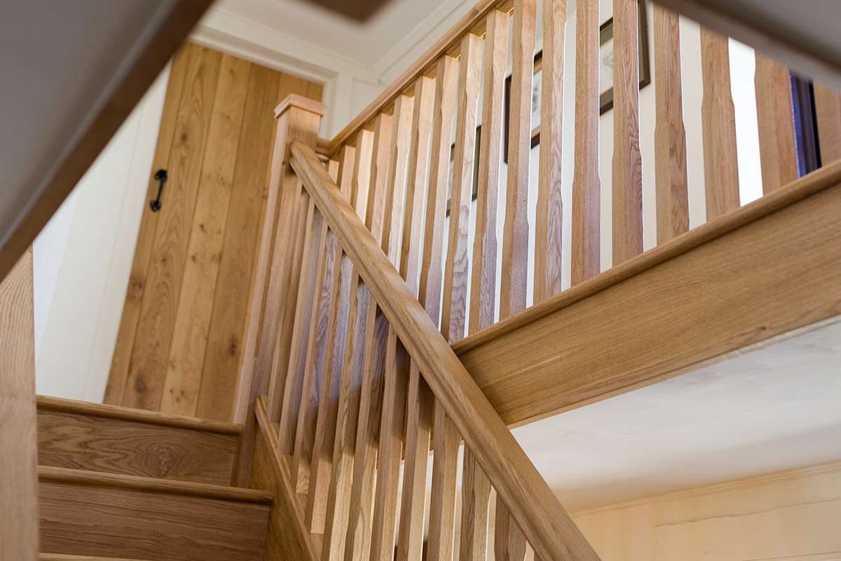 Oak Spindle Staircase Renovations