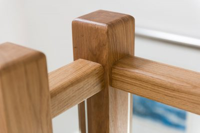 Oak & Glass Staircase Manufacturers