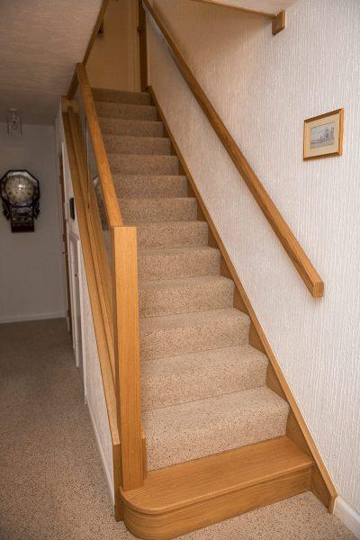 Oak & Glass Staircase Design