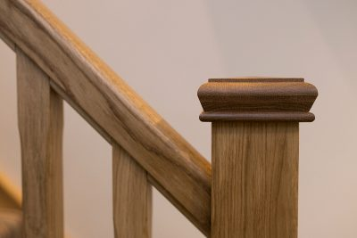 Oak Spindle Staircase Design