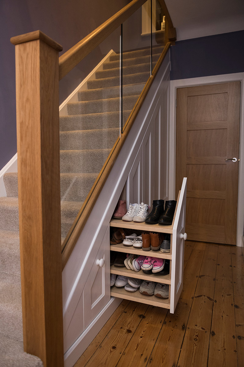 Under Stairs Storage Solutions Bespoke Storage