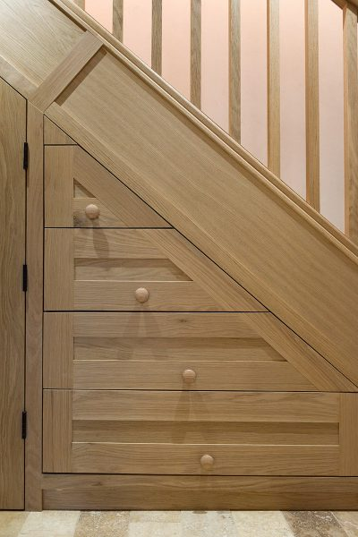 Under Stairs Storage Solutions by Hambledon Staircases