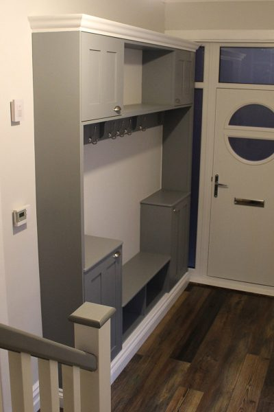 Hallway Storage Solutions by Hambledon Staircases